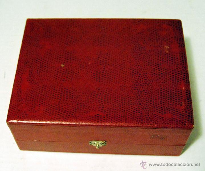 Antigüedades: Estuche con vaso y cuchara - PIEZA ANTIGUA - Foto 2 - 52967591
