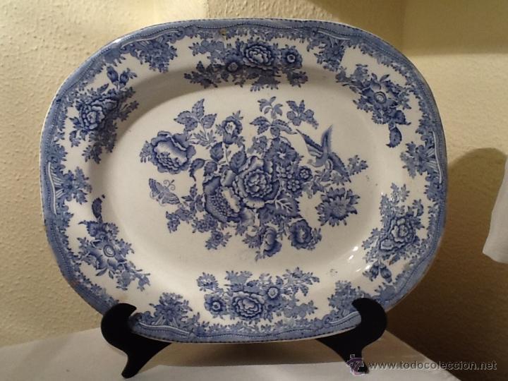 Antigua fuente porcelana inglesa faisan asi tic comprar - Porcelana inglesa antigua ...