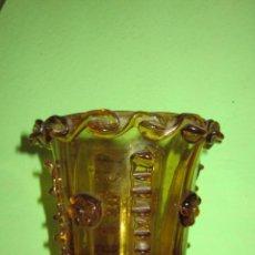 Antigüedades: CENTRO DE MESA DE VIDRIO SOPLADO.GORDIOLA.MALLORCA.. Lote 53000246