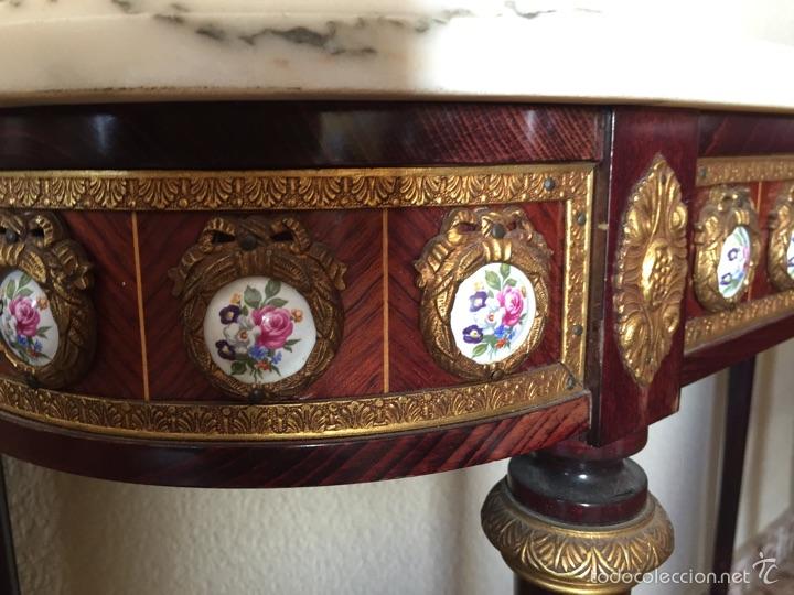 Antigüedades: Consola y espejo estilo Luis XVI - Foto 3 - 53012369