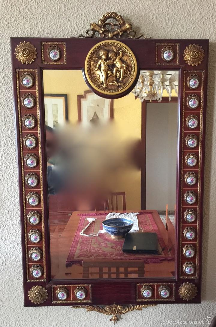 Antigüedades: Consola y espejo estilo Luis XVI - Foto 4 - 53012369