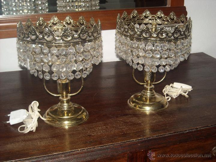 Lamparas lagrimas de cristal comprar l mparas antiguas - Lamparas cristal antiguas ...