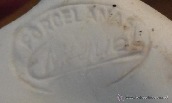 Antigüedades: Original biscuit. Liebre. Artesano ´Manuel´12 x 16 centímetros. - Foto 4 - 53018416