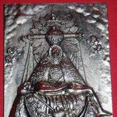 Antigüedades: VIRGEN DE LAS ANGUSTIAS PLACA / APLIQUE VIRGEN DE LAS ANGUSTIAS-03. Lote 53023777