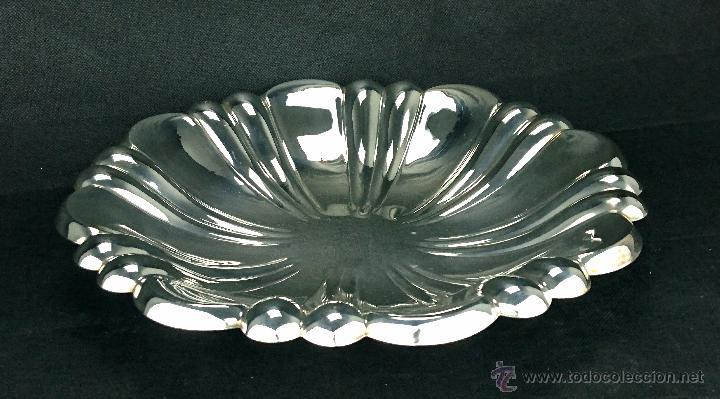 Antigüedades: Precioso bandeja Bañada en Plata - Foto 2 - 53028950