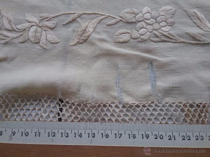 Antigüedades: Antiguo manton de manila - Foto 8 - 51644905