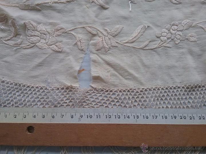 Antigüedades: Antiguo manton de manila - Foto 9 - 51644905