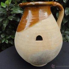 Antigüedades: ALFARERÍA CATALANA: MEDIDA DE CAPACIDAD XIX. Lote 53032730