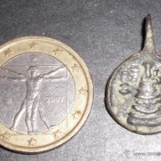 Antigüedades: ANTIGUA MEDALLA SIGLO XVII RARA VIRGEN. Lote 53053846