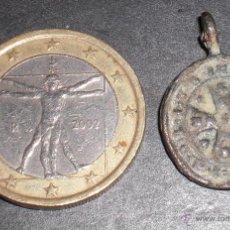 Antigüedades: ANTIGUA MEDALLA SIGLO XVII EXHORCISMO. Lote 53053880