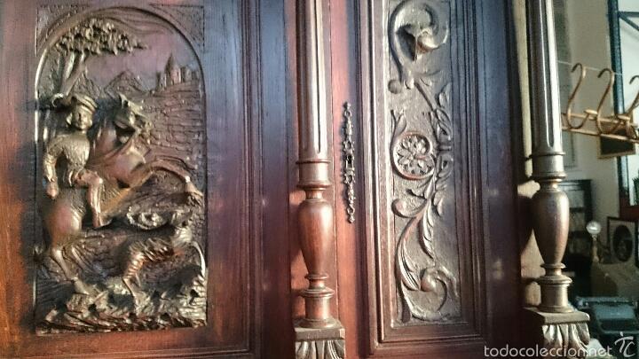 Antigüedades: EXCEPCIONAL Y GRAN MUEBLE ESTILO RENACENTISTA PRECIO 3120€ - Foto 10 - 53054658