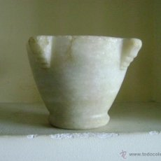 Antigüedades: MORTERO DE MARMOL. Lote 53067264
