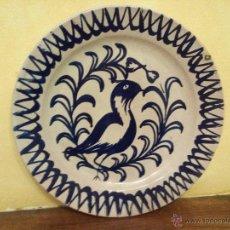 Antigüedades: ANTIGUO PLATO CERAMICA. Lote 53068931