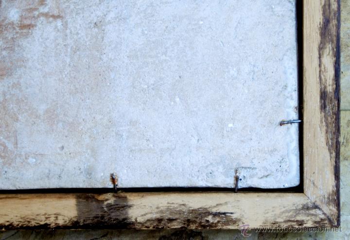 Antigüedades: MUY BONITO AZULEJO ENMARCADO - PINTADO A MANO - VALENCIA - TEMÁTICA FLORAL - COLECCIÓN - Foto 12 - 53069983