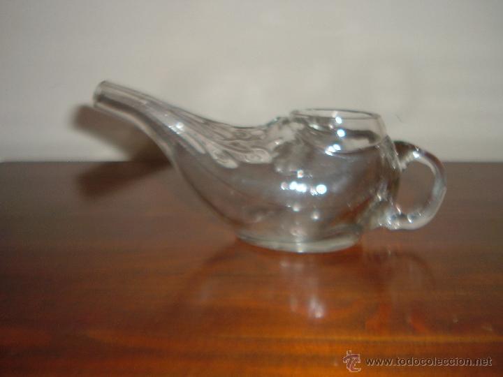 Antigüedades: Pistero de cristal - Foto 2 - 53071812