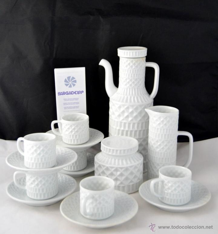 Juego cafe 6 servicios portomarinico sargadelos comprar - Ceramica de sargadelos ...