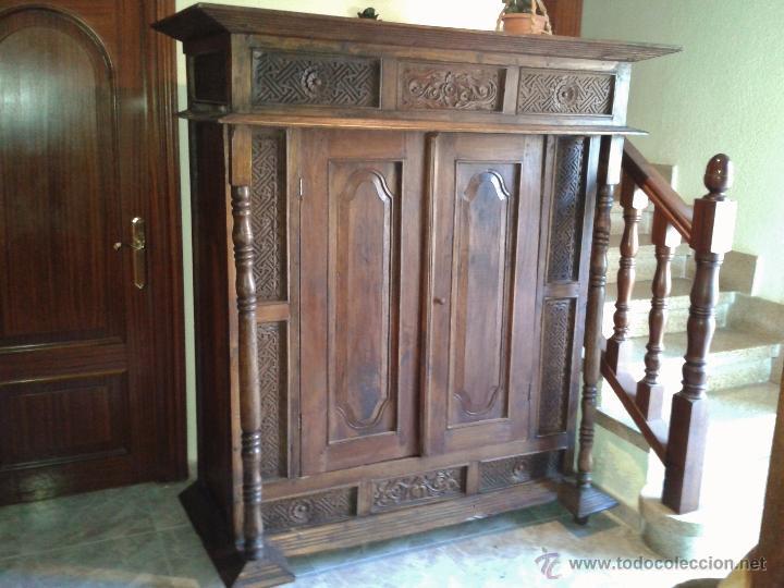 Armario balines antiguo armario de la india de comprar armarios antiguos en todocoleccion - Muebles de la india ...