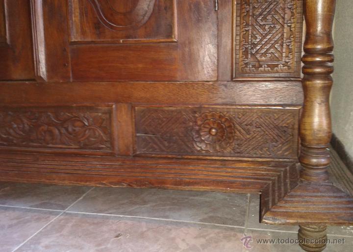 Antigüedades: Armario antiguo India estilo balinés. Armario oriental, armario étnico - Foto 13 - 53089953
