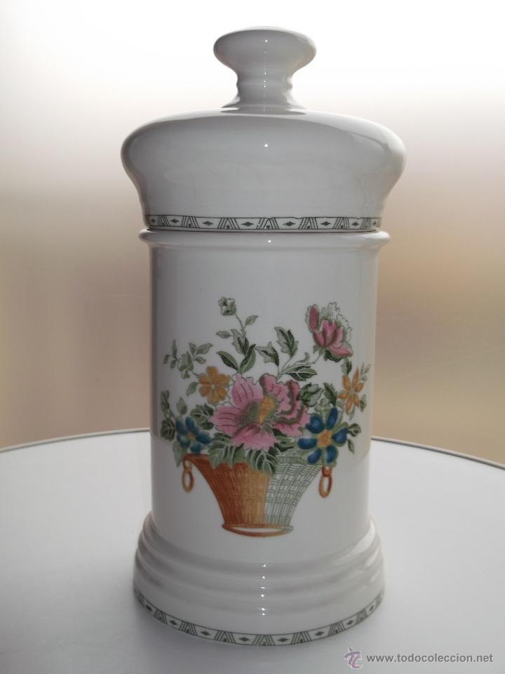 Gran caja tarro de botica porcelana la cartuja comprar Ceramica portuguesa online