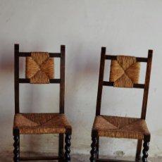 Antigüedades: SILLAS. Lote 53101960
