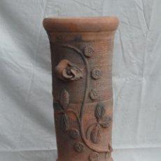 Antigüedades: BONITA PEANA FLORERO MACETERO DE CERÁMICA.. Lote 53114448