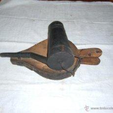 Antigüedades: FUELLE FUMIGADOR CON RECIPIENTE .. Lote 53117441
