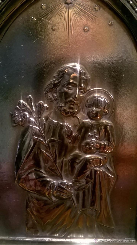 Antigüedades: Benditera bañado plata - Foto 3 - 53118987