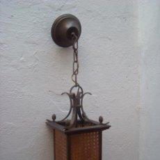 Antigüedades: FAROL DE REJILLA. Lote 53125469