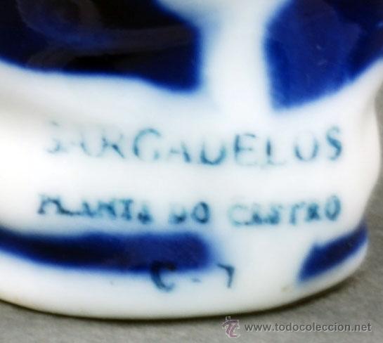 Antigüedades: Gaitero porcelana Castro Sargadelos S XX - Foto 6 - 111321570