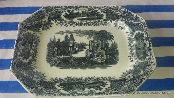 BANDEJA PICKMAN PERFECTA PRINCIPIOS DE 1900 (Antigüedades - Porcelanas y Cerámicas - La Cartuja Pickman)