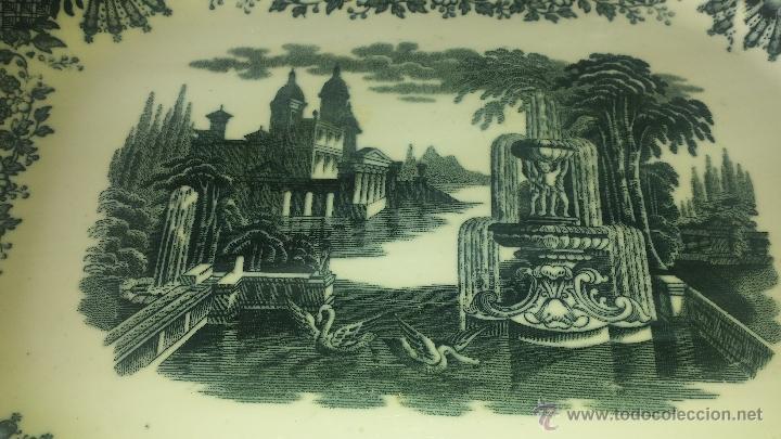 Antigüedades: Bandeja pickman perfecta principios de 1900 - Foto 2 - 53176890
