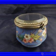 Antigüedades: CAJA DE PORCELANA DE LIMOGES POLVERA. Lote 53181602