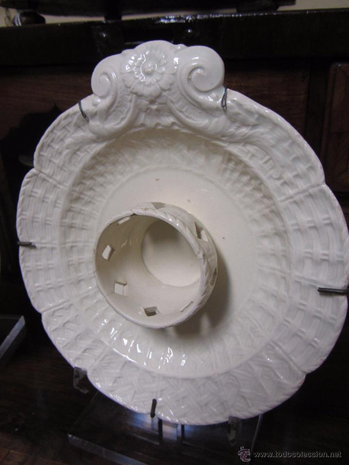 Antigüedades: Pareja de Mancerinas de Alcora - Foto 2 - 53184136
