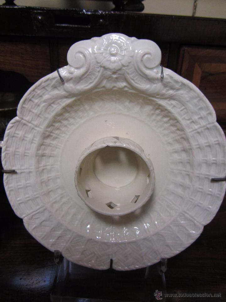 Antigüedades: Pareja de Mancerinas de Alcora - Foto 3 - 53184136
