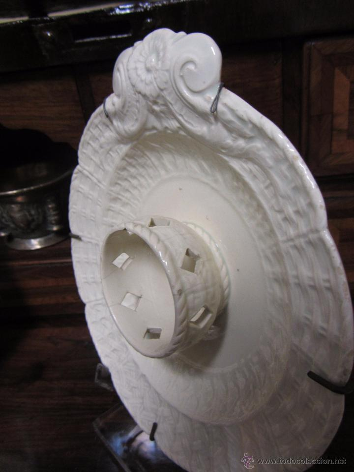 Antigüedades: Pareja de Mancerinas de Alcora - Foto 7 - 53184136
