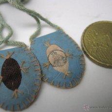 Antigüedades: ANTIGUO ESCAPULARIO. Lote 53190516