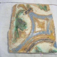 Antigüedades: AZULEJO SIGLO XVI (TRIANA). Lote 53192317