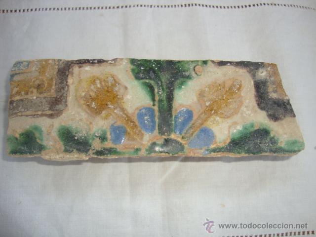 AZULEJO SIGLO XVI (TRIANA) (Antigüedades - Porcelanas y Cerámicas - Triana)