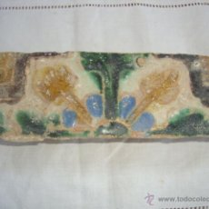 Antigüedades: AZULEJO SIGLO XVI (TRIANA). Lote 53192345