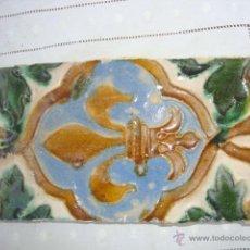 Antigüedades: AZULEJO SIGLO XVI (TRIANA). Lote 53192434