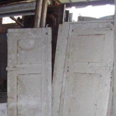 Antigüedades: PAREJA DE ANTIGUAS PUERTAS BALCONERAS. Lote 53208201