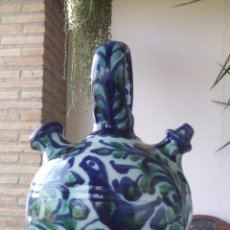 Antigüedades: ANTIGUO BOTIJO, BUCARO O PIPO CERÁMICA FAJALAUZA. Lote 53214538