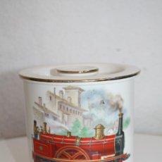Antiquités: CAJA PARA TABACO O GALLETAS SAN CLAUDIO OVIEDO. Lote 53216496