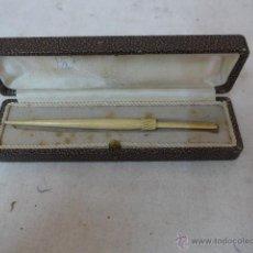 Antigüedades - Antigua pieza a identificar, en marfil o hueso, de principios s.XX. En caja - 53222420