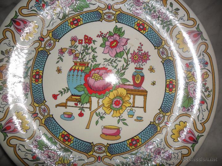 Antigüedades: Pareja platos modernistas - Foto 5 - 53225683