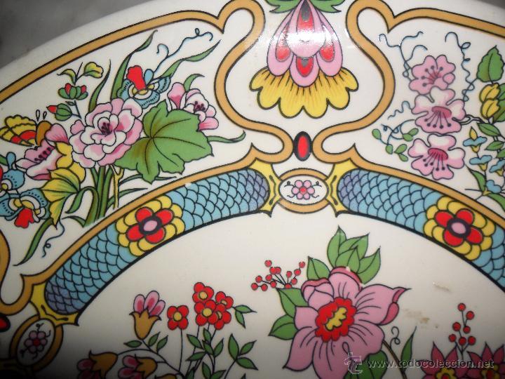 Antigüedades: Pareja platos modernistas - Foto 6 - 53225683