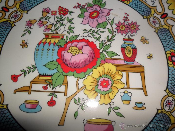 Antigüedades: Pareja platos modernistas - Foto 7 - 53225683