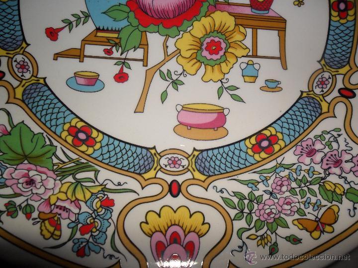 Antigüedades: Pareja platos modernistas - Foto 8 - 53225683