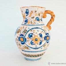 Antigüedades: JARRA DE CERÁMICA DE TALAVERA, NIVEIRO. FINALES DEL S. XIX. IMAGEN VIRGEN DEL PRADO. Lote 53225710