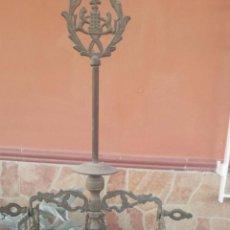 Antigüedades: ANTIGUO QUINQUE DE LATON. Lote 53228415